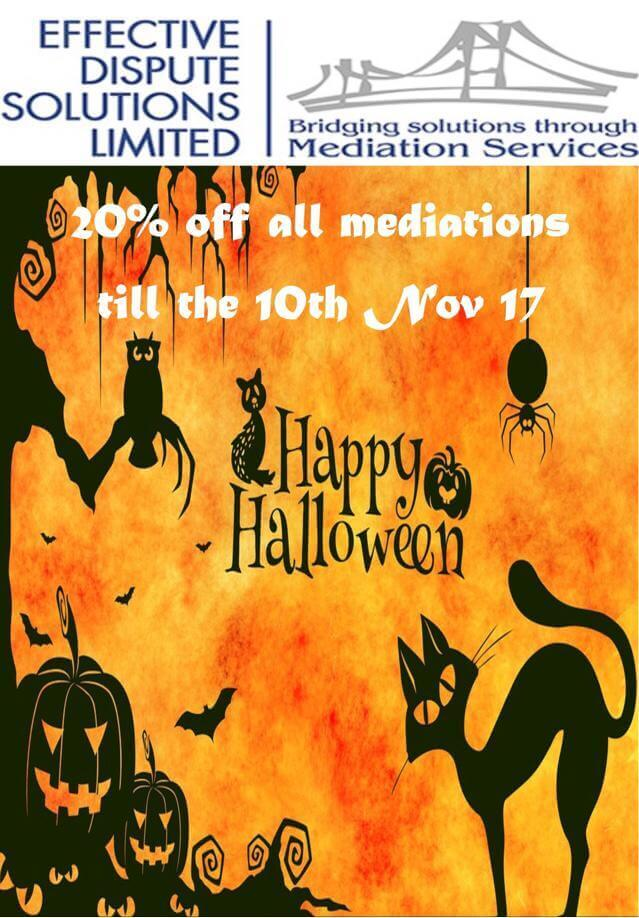 Halloween Mediation
