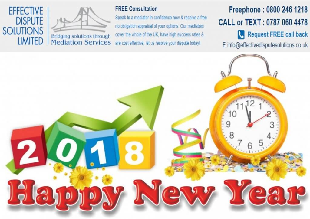 mc mediator happy new year 2018 effective dispute solutions